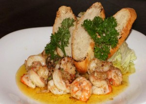 Food - Shrimps - Ocean Vida Restaurant