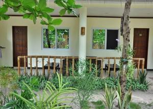 Garden Room Porch - Ocean Vida Malapscua