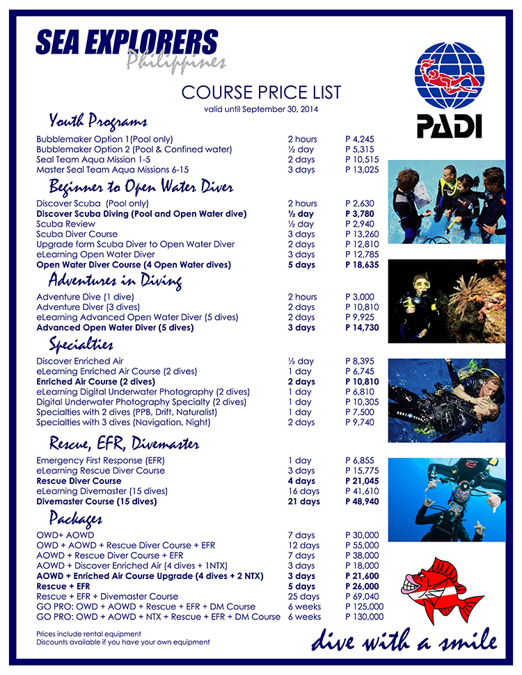 PADI-Dive-Courses-2014-of-Sea-Explorers-Philippines