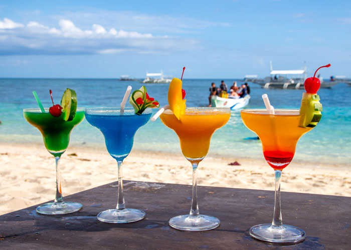 beach cocktail bar