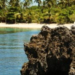 Malapascua island - rock image