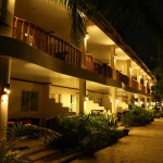 Ocean Vida Rooms External - night view
